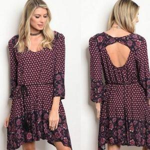 (L) Multi shift Dress